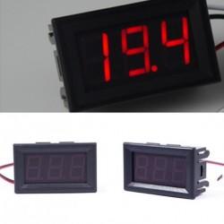 1 db DC 0-30V piros LED 3 digit voltmérő voltméter