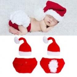 1db Baby lány fiú  Újszülött Karácsonyi sapka   Aranyos Rövidnadrág Gyerekek Ruházat 0-3 hónap