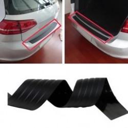 1db Praktikus autós védőburkolat Hátsó védőburkolat  karimás karcolás fekete védelem