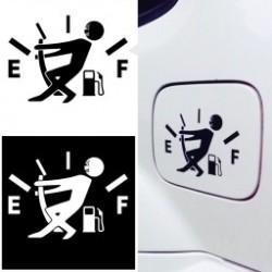 Vicces magas  gázfogyasztású autós öntapadós matricák autós matricák autó dísz kieészítő