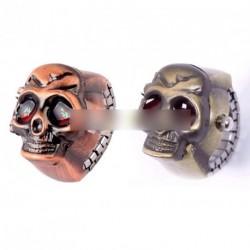 Kreativ Elasztikus koponya gyűrű óra női férfi