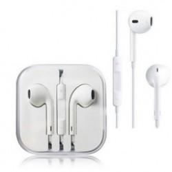 Fülbe helyezhető fülhallgató fülhallgató és távirányító mikrofon iPhone 6 6plus 5s 5 4 praktikus