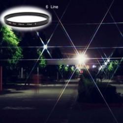 1x 58 mm-es 6 vonal UV Ultra-Violet Haze Dslr fényképezőgép üveges lencsék szűrő objektívvédő eszköz