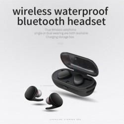 TWS Vízálló vezeték nélküli Mini fülhallgató Twins Sport Bluetooth fejhallgató Új