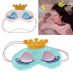 1db aranyos színes hercegnős szem maszk alvás utazás pihenés relaxáció