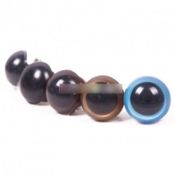 5pár 10mm játék maci plüssállat szem több színben