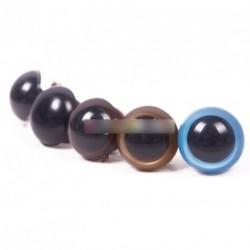 5pár 16mm játék maci plüssállat szem több színben