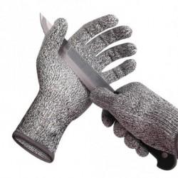 1 db Vágásálló kesztyűk 5. szint, EN388 minősítésű biztonsági kesztyűk a kézvédő kesztyű