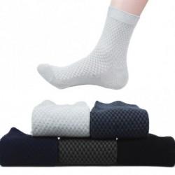 1 pár  férfiak bambusz szálas zokni alkalmi üzlet Anti-bakteriális dezodor  zokni véletlenszerű