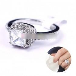 1db Divatos köves női eljegyzészi gyűrű több méret