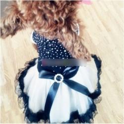 1db Állat kutya fekete színű divat esküvő ruha