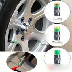 1 db autó gumi szelep nyomás mérő 3 szín