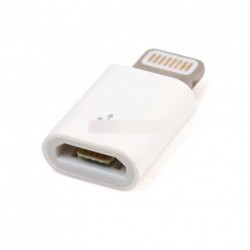 Micro USB aljzat 8 tűs csatlakozó adapter iPhone