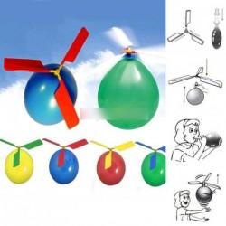 10 db Színes Classic lufi helikopter Gyermek játék