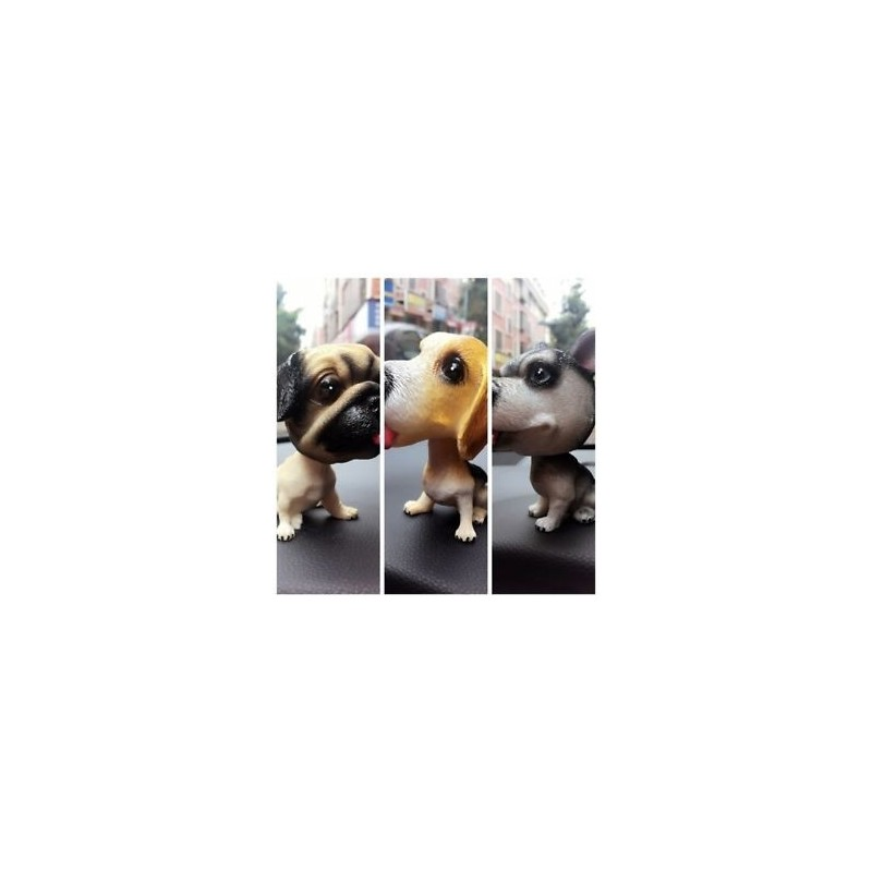 1efd8a8c9832 No.2 - Új autó stílusgyanta gyanta aranyos Corgi kutya baba Husky baba autó  bólintó kutya rázza baba