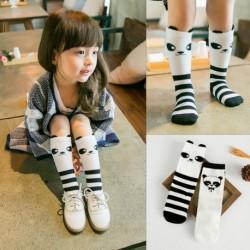 1 pár Aranyos Panda Soft pamut zokni 0-6 év