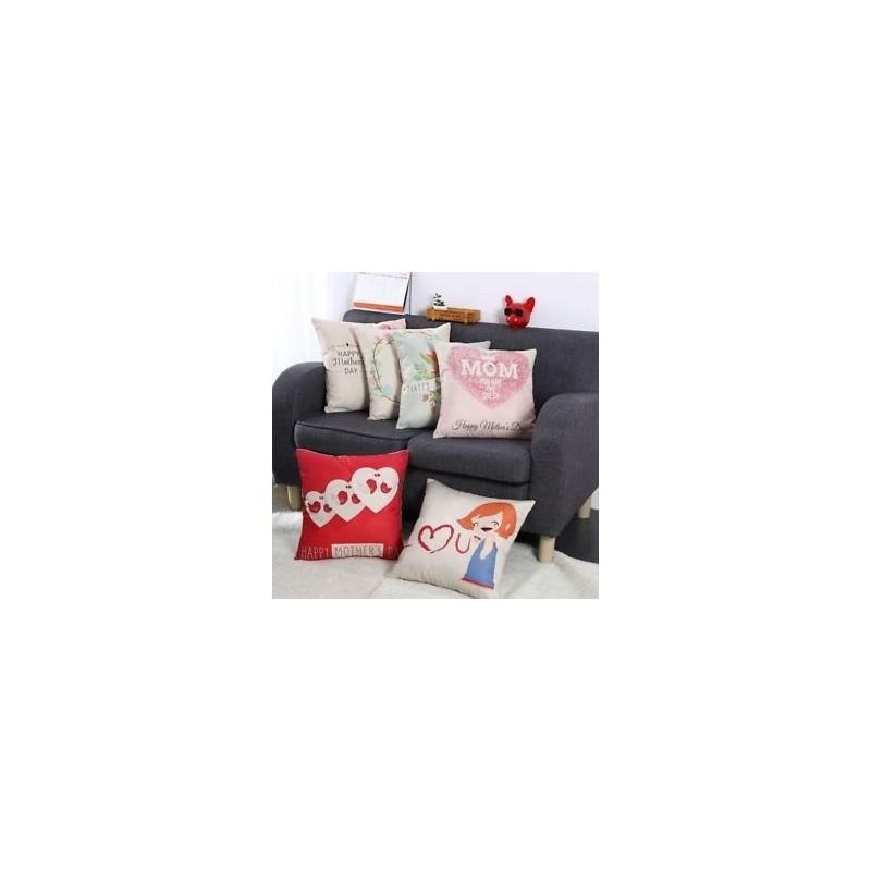 9c38480e549b Ágynemű pamut párna takaró kanapé párna tok Boldog anya napja Love design  párna ...