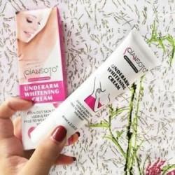 Térdig érő megvilágosító bőrápolás QIANSOTO Armpit Whitening Cream Private Part