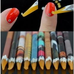 1db Kristály strassz ceruza köröm dekoráció eszköz
