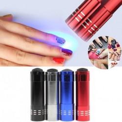 1db Mini hordozható LED köröm szárító lámpa