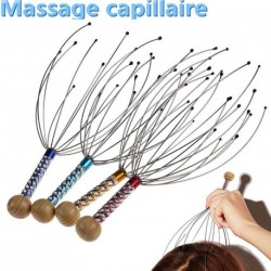 2db fejbőr masszírozó stresszoldó relaxációs